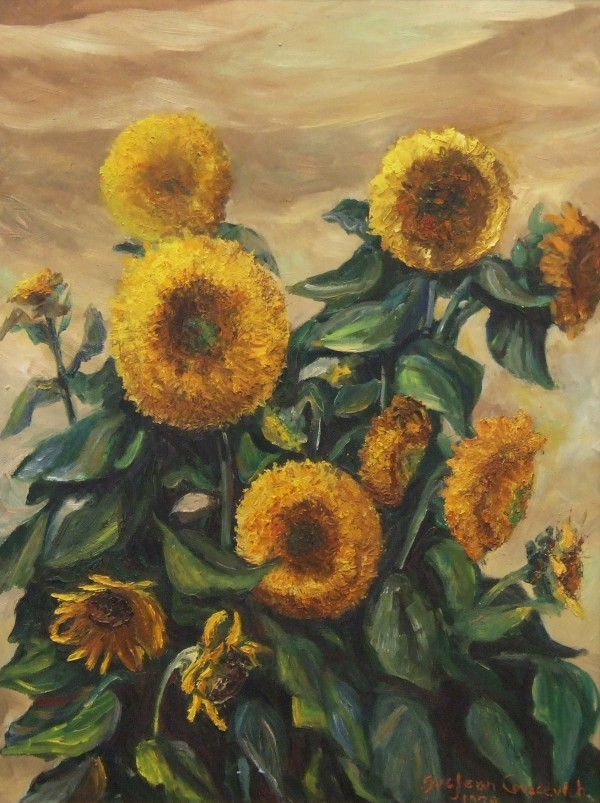 5.Covacevich_Sunflowers_32x24