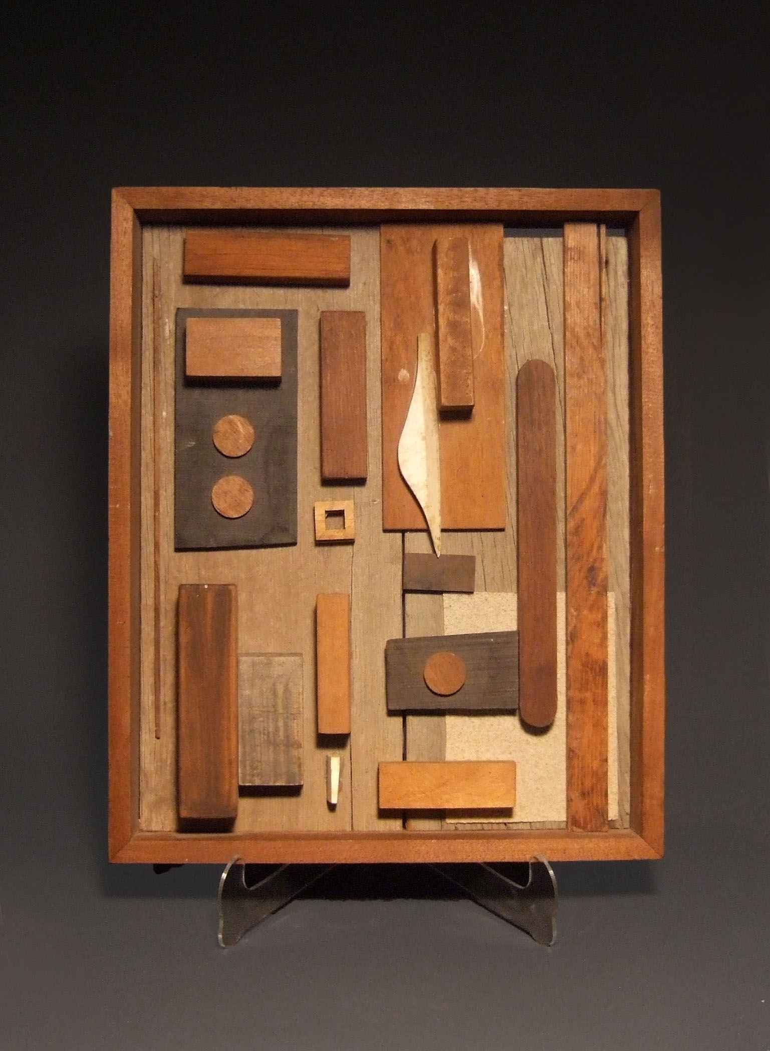 "Sue Jean Covacevich, ""Box Sculpture (1)"", Wood"