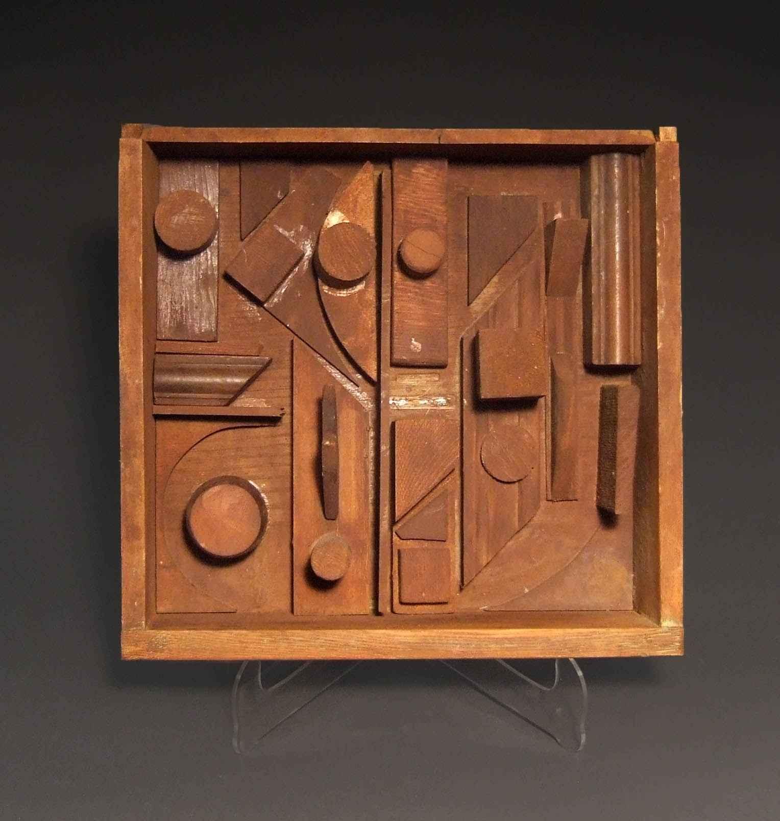 "Sue Jean Covacevich, ""Box Sculpture (2)"", Wood"