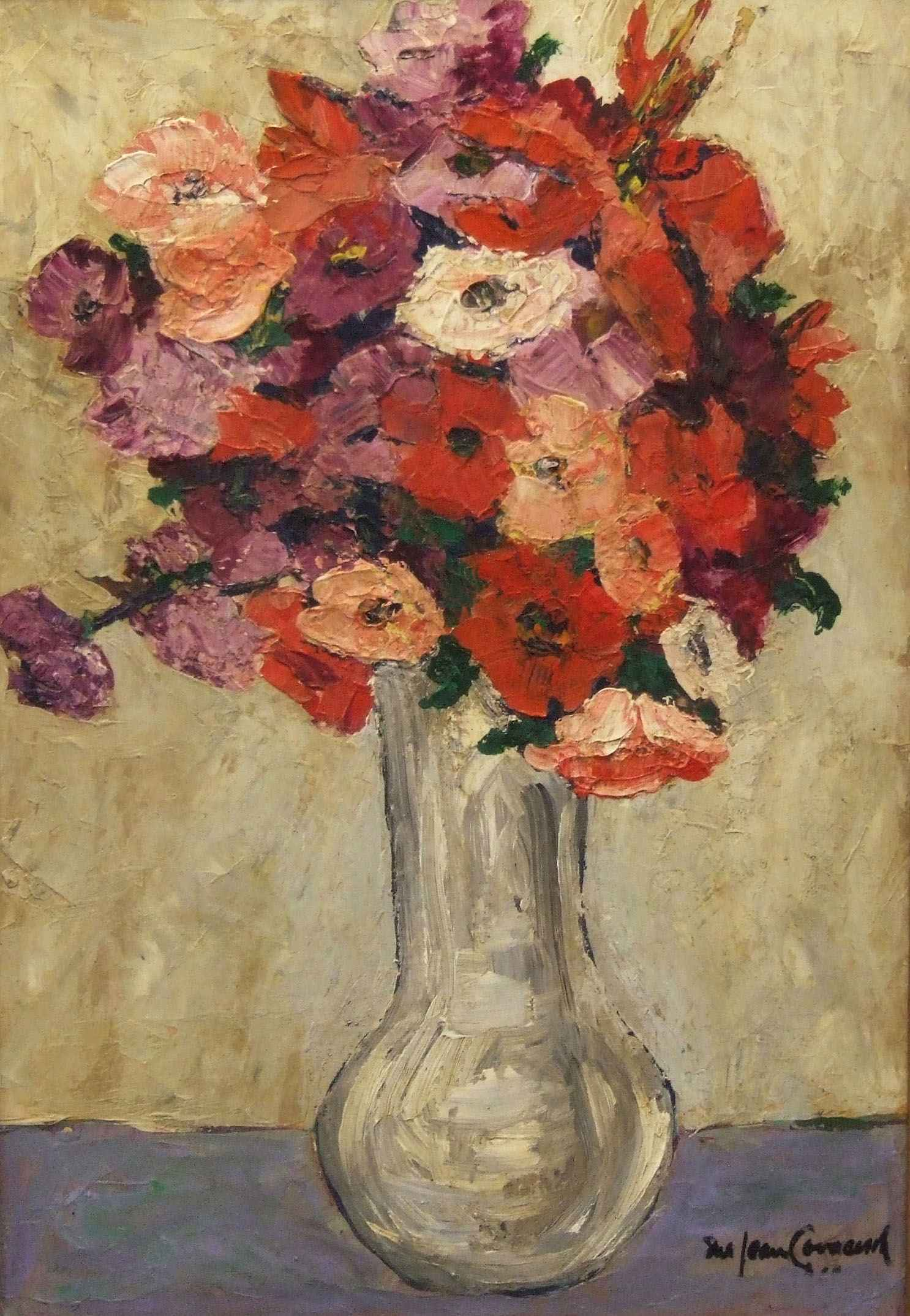 """Sue Jean Covacevich, """"Mexican Flowers"""", Oil on panel"""