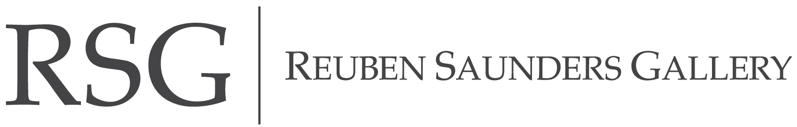 Reuben Saunders Gallery Logo
